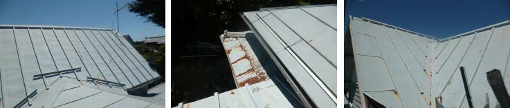 鋼板や鉄部分の板金の劣化(錆、腐食)